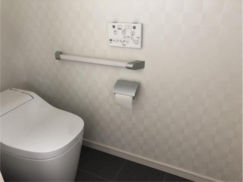 注文住宅のトイレ