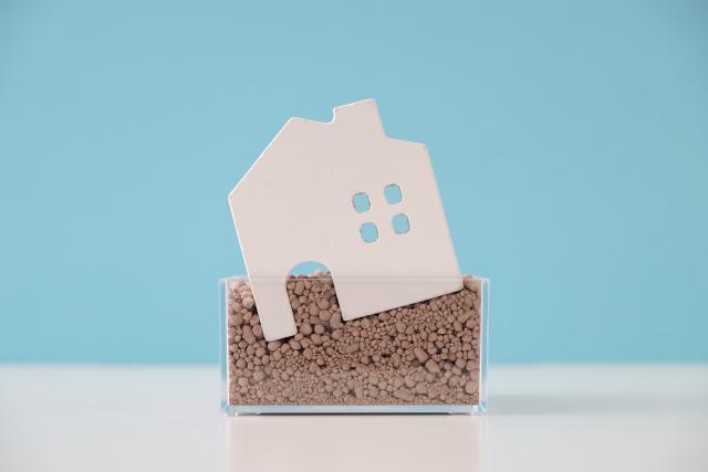 注文住宅で地盤沈下を確認