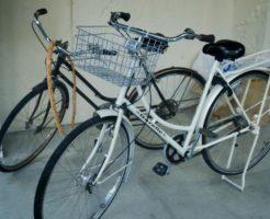 注文住宅の自転車置き場