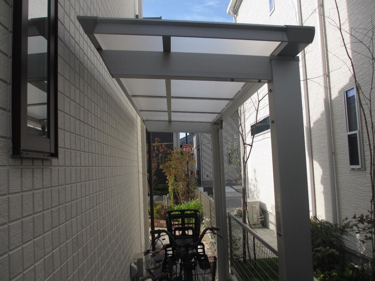 注文住宅の自転車置き場5