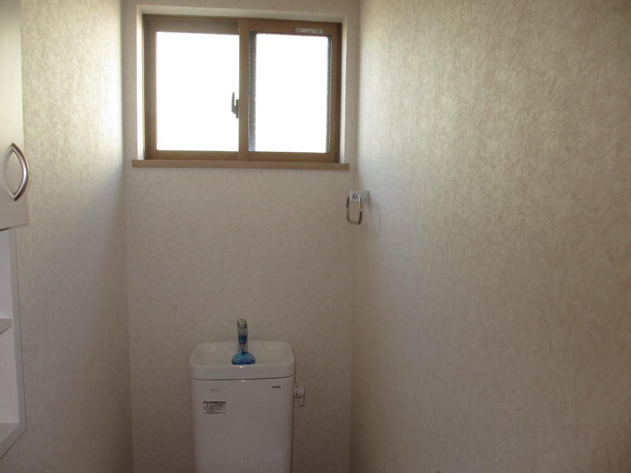 注文住宅のトイレ窓