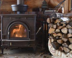 暖炉タイトル