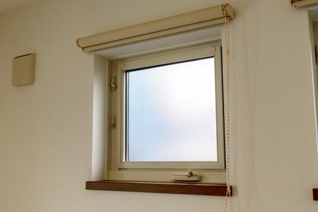 閉まっている窓